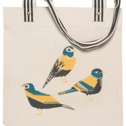 Danica Studio Canvas Market Bag Tote Chirp