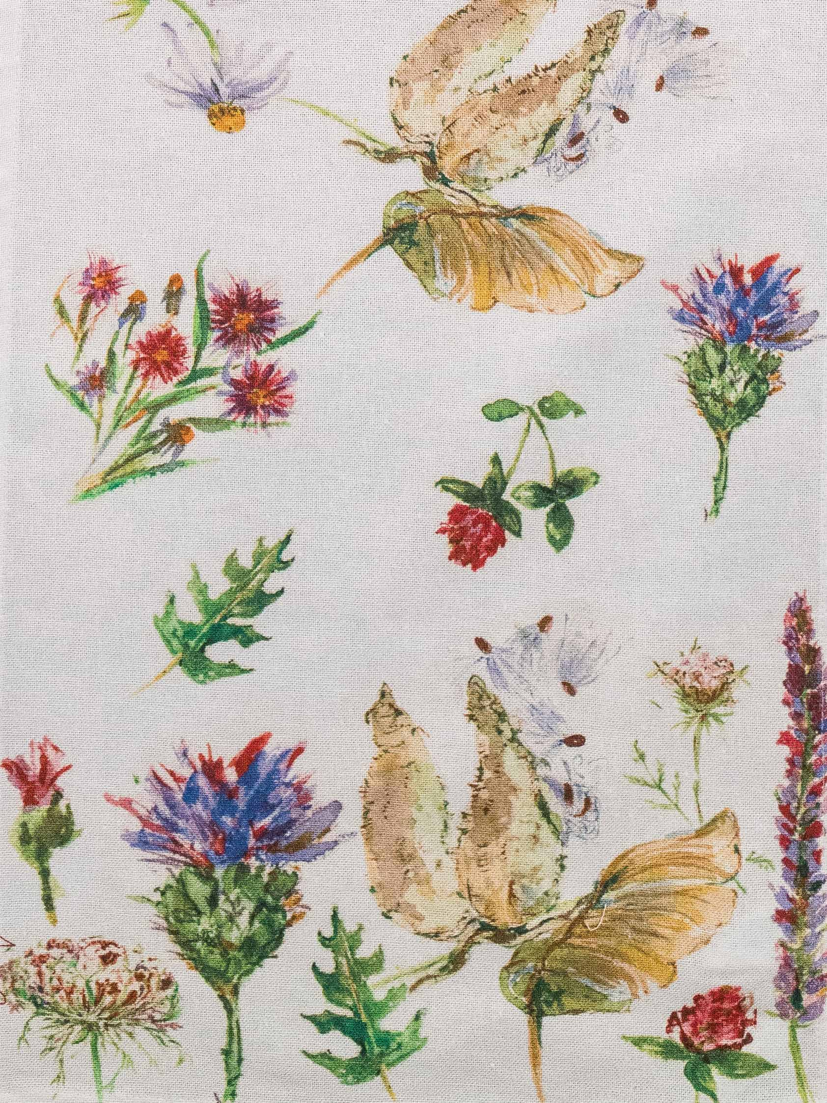 Placemats April Cornell Table Runner Field Flowers Collection