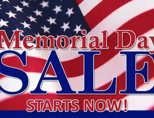 Memorial Day Sales Event Starts Now