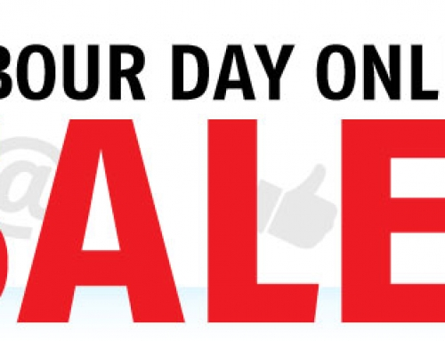 Labour Day Sale Starts Now