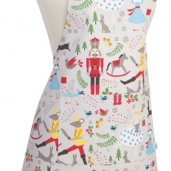 Now Designs Chef's Apron Nutcracker Holiday