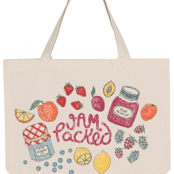 Now Designs Market Bag Tote Bag Lets Jam