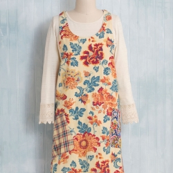 April Cornell Kindred Patchwork Apron