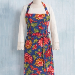 April Cornell Ming Apron Navy