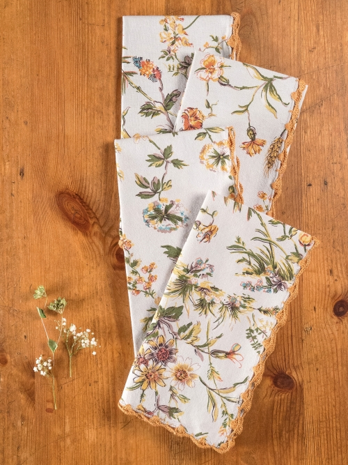 April Cornell Kitchen Napkin Set/4 Meadow