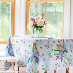 April Cornell Tablecloth 54x54 Spring Romance