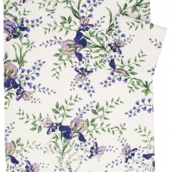 April Cornell Tea Towel Irresistible Iris