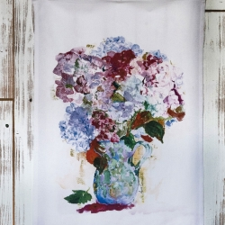 April Cornell Tea Towel My True Love's Hydrangea
