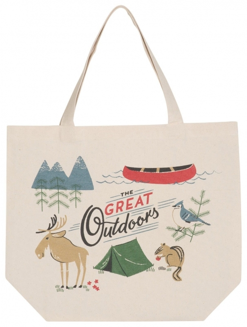 Now Designs Great Outdoors Market Tote Bag