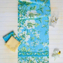 April Cornell Table Runner Water Lily