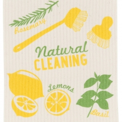 Now Designs Swedish Dishcloth Natural Lemon