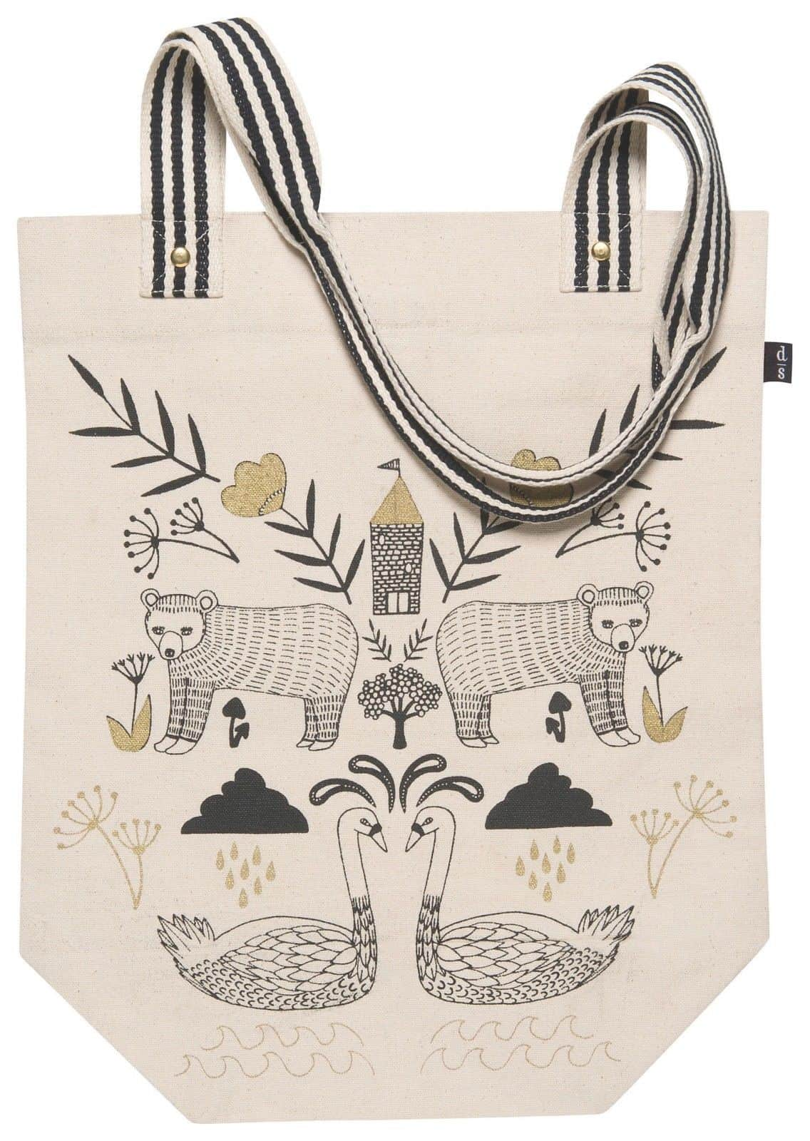 Now Designs Wild Tale Market Tote Bag