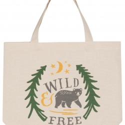 Now Designs Wild & Free Market Tote Bag