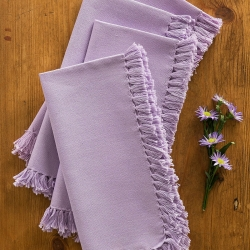 April Cornell Kitchen Napkin Set 4 Lavender