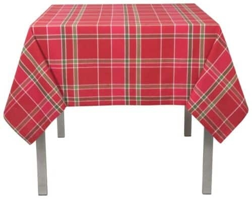 Now Designs Holiday Plaid Tablecloth 60X60