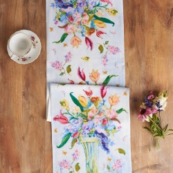 April Cornell Table Runner Spring Romance