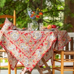 April Cornell Tablecloth Rhapsody Paisley 36x36